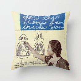 INSPECTION Throw Pillow