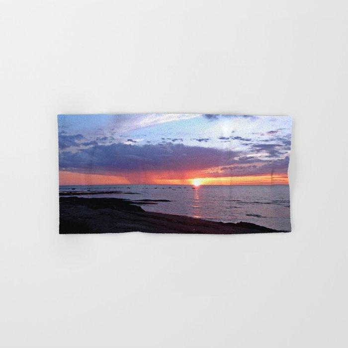 Sunset Rain Cloud Hand & Bath Towel