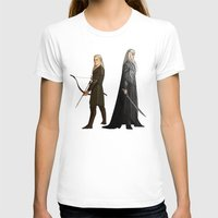 legolas T-shirts featuring Legolas & Thranduil by rdjpwns