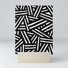 Monochrome 01 Mini Art Print
