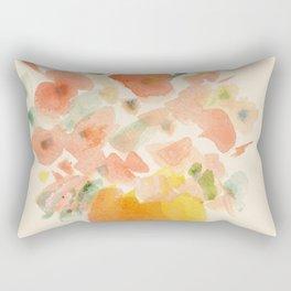 Gorgeous Poppies by artist John E. Rectangular Pillow