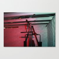 psychology Canvas Prints featuring Psychology of Crime 03 by Michael Swann