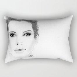 Sandra Bullock Rectangular Pillow