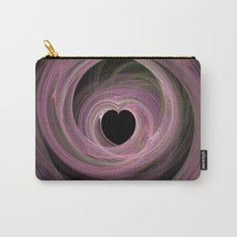 Valentine's Fractal IV - Dark Carry-All Pouch