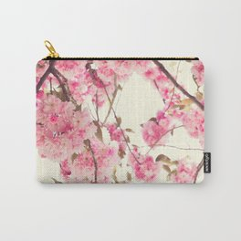 Deep cherry blossoms Carry-All Pouch