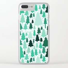 Wild & Woodsy Clear iPhone Case