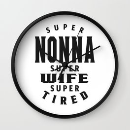 Super Nonna Wall Clock
