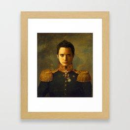 Elijah Wood - replaceface Framed Art Print