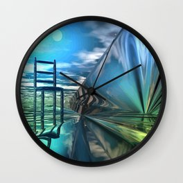 Der leere Stuhl Wall Clock