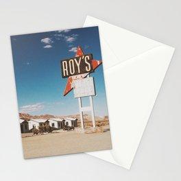 Roy's Motel Stationery Cards