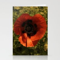 woodstock Stationery Cards featuring woodstock flowers by Teresa Gabry