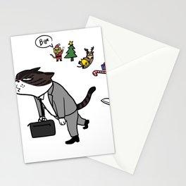 good bye Xmas Stationery Cards