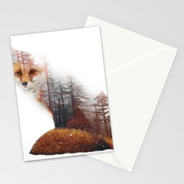 Misty Fox Stationery Cards