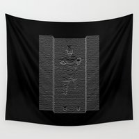 joy division Wall Tapestries featuring Joy Division: Going Solo by The Cracked Dispensary