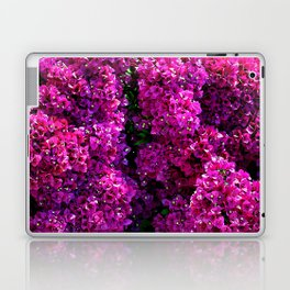 flwers in lilla Laptop & iPad Skin
