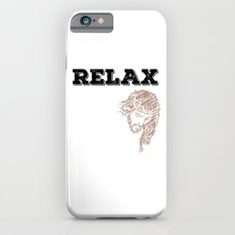 """""""Relax, Jesus got this"""" tee design for religious and spiritually active and awesome person like you! iPhone Case"""