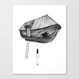 Break-In Canvas Print