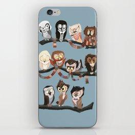 Doctor Hoo - Painted Version iPhone Skin