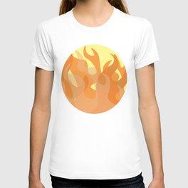 Pastel Flames T-shirt
