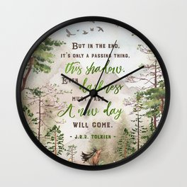 But in the end Wall Clock