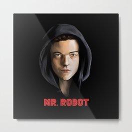 Mr. Robot Metal Print