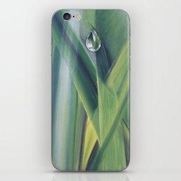 A drop of water iPhone Skin