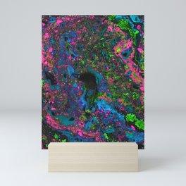 Raver (Alcohol Inks Series 05) Mini Art Print