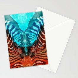 Zebra Love - Art By Sharon Cummings Stationery Cards