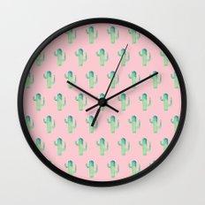 Summer in the Desert Wall Clock