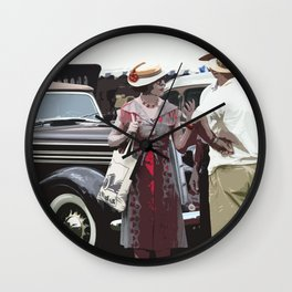 At The Races, 1937 Style Wall Clock