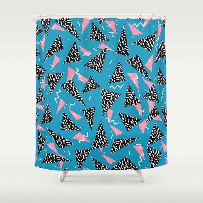80s Abstract memphis pattern trendy modern pattern print pink black ...