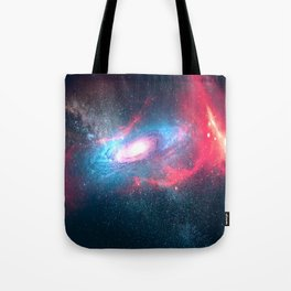 Wonderful Spiral Galaxy Space Tote Bag