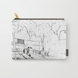 Architecture Handdcrafting Carry-All Pouch