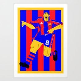 R9 BlauGrana Art Print