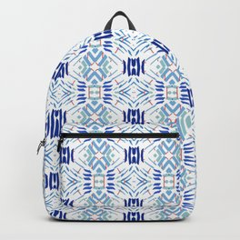 Asian Blue - inspired by Japanese textiles Backpack
