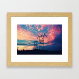 Kawartha Sunset Framed Art Print