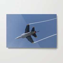 The Colour of Power Metal Print