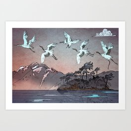 - Japanese - Art Print