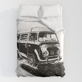 at full speed Comforters