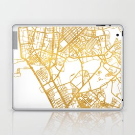 MANILA PHILIPPINES CITY STREET MAP ART Laptop & iPad Skin