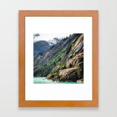 Mountain in Focus Framed Art Print