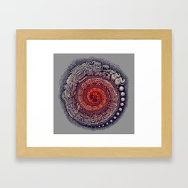 The 14th Baktun Framed Art Print