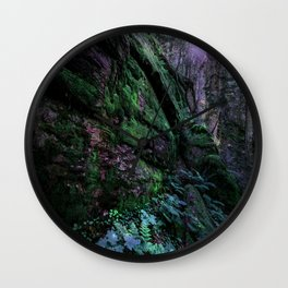 Enchanted Forest Wall (Where the Fairies Dwell) Wall Clock