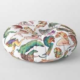 Reverse Mermaids Floor Pillow