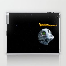 Red ring of Death Star Laptop & iPad Skin
