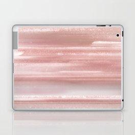 Geode Crystal Rose Gold Pink Laptop & iPad Skin