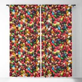 Gourmet Jelly Beans Candy Photo Pattern Blackout Curtain
