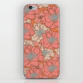 Loud Floral iPhone Skin