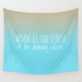 Drinking Wall Tapestry