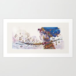 The big one Art Print